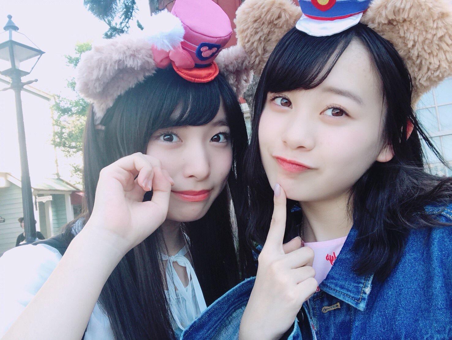 【AKB48】横山結衣と久保怜音の仲良しコンビ!!!